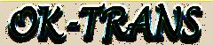 OK-Trans Gmbh Text-Logo